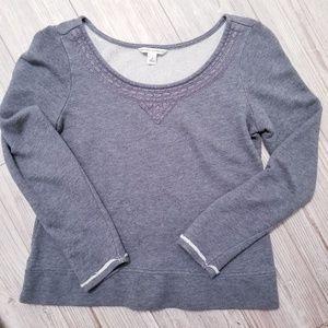 Banana Republic Gray Sweatshirt size small